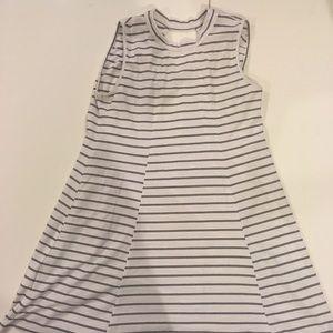 BCBG striped swing dress